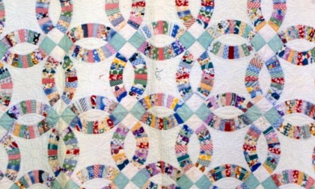 double wedding ring quilt free quilt patterns