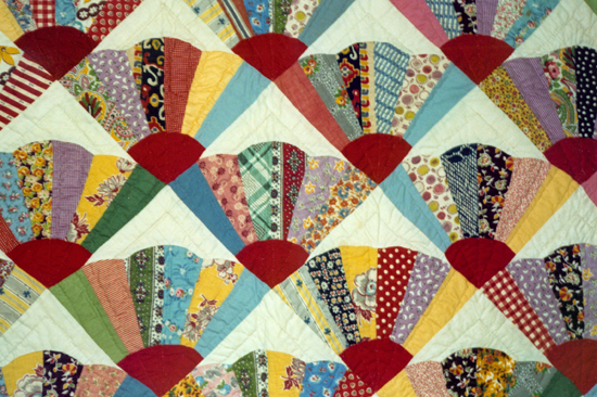 Quilt Pattern For Grandmother S Fan : Grandmothers fan quilt Free Quilt Patterns