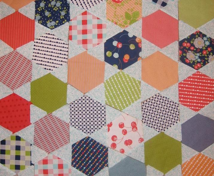honeycomb quilt Free Quilt Patterns