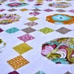 Irish chain quilt pattern