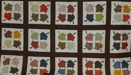 maple leaf quilt pattern Free Quilt Patterns