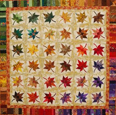Quilt Pattern For Maple Leaf : maple leaf quilt pattern Free Quilt Patterns