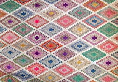 Grandmother S Flower Garden Quilt Free Quilt Patterns