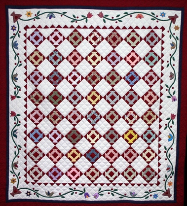 Monkey Wrench Quilt Pattern Traditional Quilt Pattern