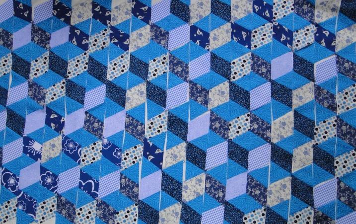 Tumbling Block Quilt Pattern Free Quilt Patterns