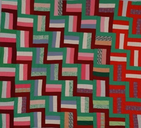 Quilt Pattern Split Rail Fence : rail fence quilt pattern Free Quilt Patterns