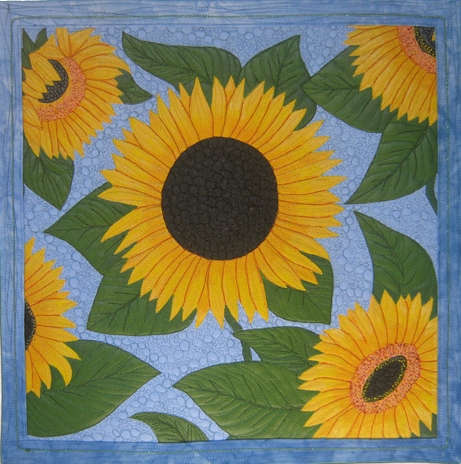 galleries sunflower sunflowers quilt in quilts z photos a flickr on gallery