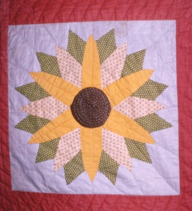 Sunflower Quilt Free Quilt Patterns