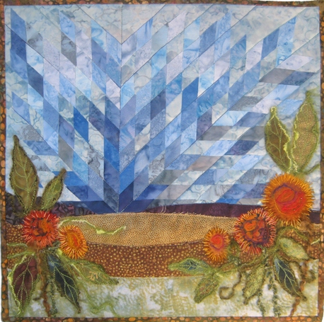 Quilted Mug Rug Val Laird Designs Journey Of A Stitcher