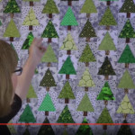Christmas tree quilt tutorial