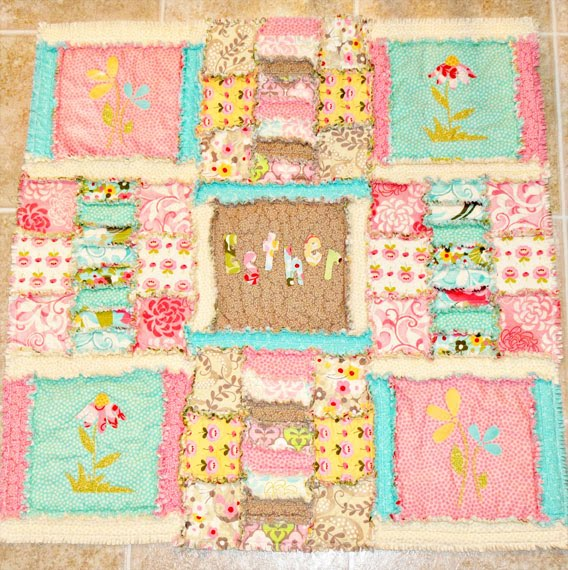 Shabby Baby Rag Quilt Free Quilt Patterns
