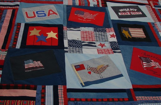 Crazy t shirt quilt pattern free quilt patterns for How to make t shirt quilts easy