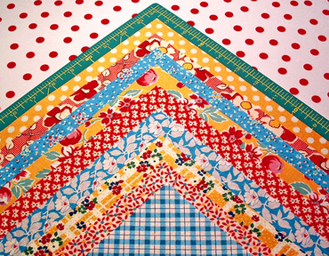 crazy nine patch quilt