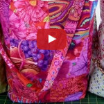 How to make quilted bag tutorial