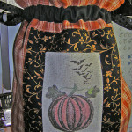 Halloween quilted trick o treat bag