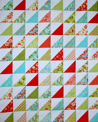 half-square triangle quilt patterns   Free Quilt Patterns : triangle quilt pattern free - Adamdwight.com
