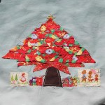 applique christmas tree quilt