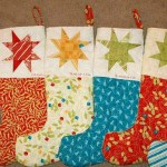 12 fun quilted christmas stockings