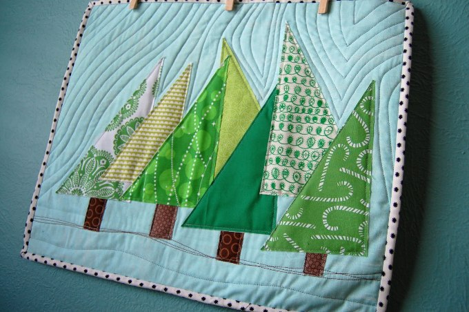 Paper Pieced Christmas Quilt Patterns