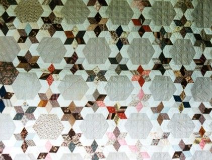 Six Pointed Star Quilt Pattern Free Quilt Patterns