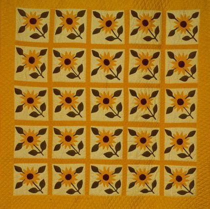 Sunflower Quilt Free Quilt Patterns