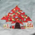 applique christmas tree quilt