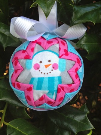 6 Quilted Christmas Ornament Patterns Free Quilt Patterns